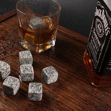 Customized whiskey rock granite/beer stone/whisky Ice cube engraved