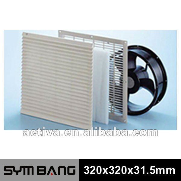 FU250-B Ventilator Filter Unit Fan Guard