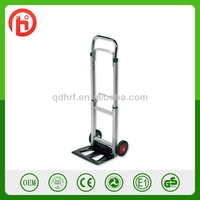 Foldable aluminium hand trolly HT1105B with 90kg capacity