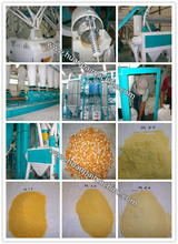 yellow corn grits making machine/corn machine