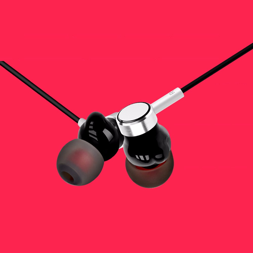 Wholesale earbud custom Coil driver noise cancelling flat headphone
