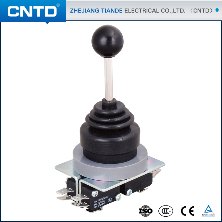 CNTD 30mm Self-locking Round Type Joystick Control Cross Switch CMRS-304-1