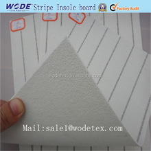 Footwear raw material and Stripe insole materials used for shoe making