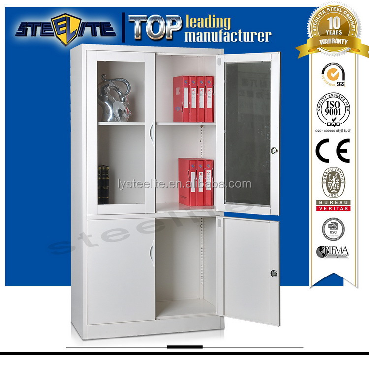 New design metal storage cabinets sale for philippines/china cabinet glass replacement
