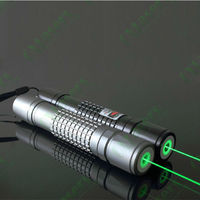 OXLasers OX-G40-1 532nm powerful 100mW adjustable focus Burning Green Laser Pointer flashlight burn matches