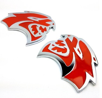 Custom LEOPARD HEAD car badge and LEOPARD HEAD auto emblem