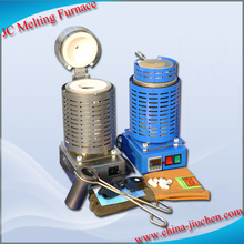 JC Small Scrap Metal Gold and Silver Melting Furnace for Sale