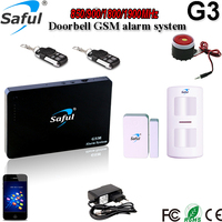 Stock goods saful home automation GSM/sms security alarm system G3 for home safety/remote control security electronics