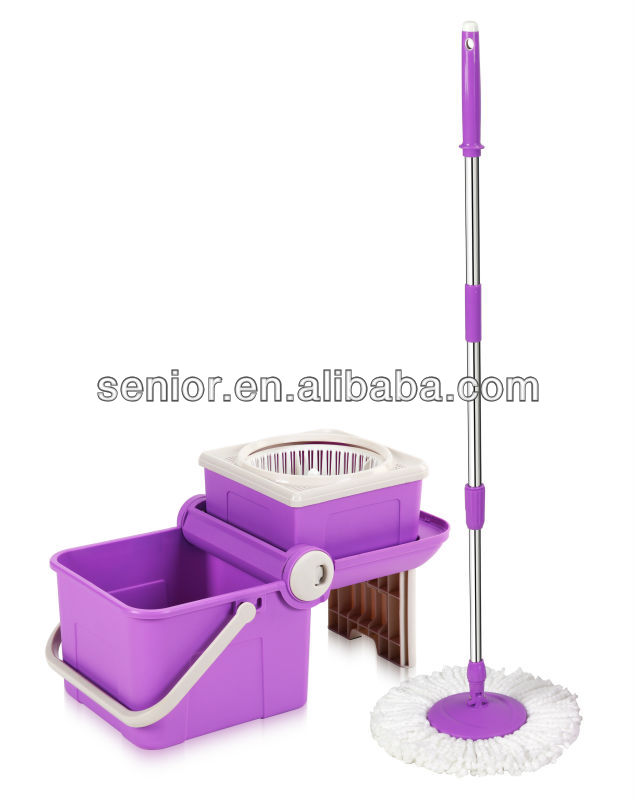 New Magic mop 360 Spin mop foldable mop bucket as seen on tv