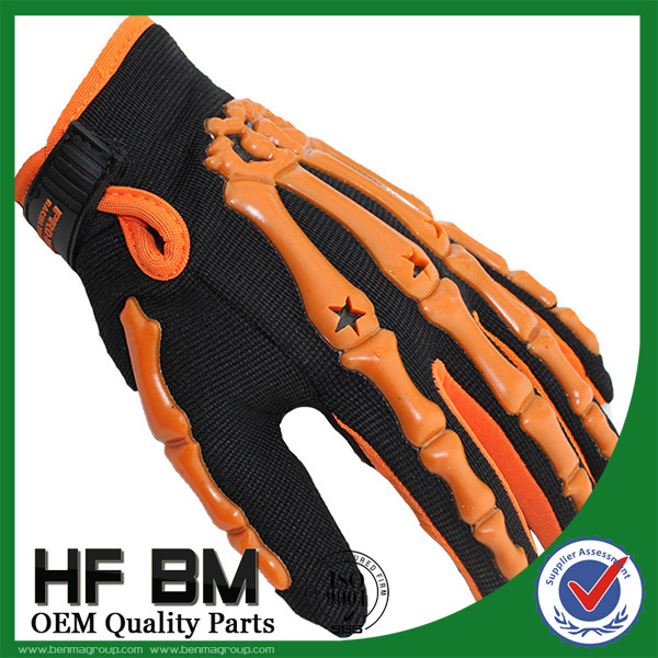 2015 new style Full Finger Men Blue Motocross Gloves / Racing Gloves / Motorbike Gloves HF-104