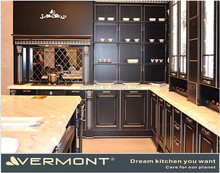 Modern Home Furniture Luxury Solid Wood Kitchen Cabinets
