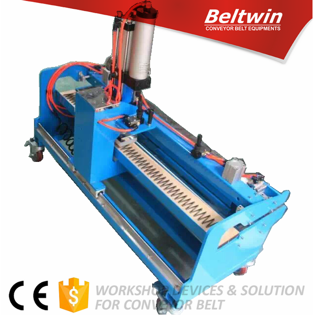 Beltwin CE certificated PVC/PU belt finger punch machine 1000 before jointing