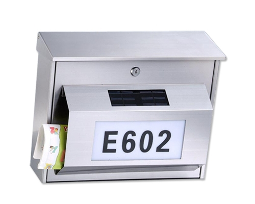 FQ-115 Lockable Postbox,Iron mailbox,Transverse box
