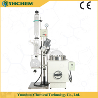 Industrial glass distillation equipment (EXRE-5001)50L glass rotary evaporator for pilot plant