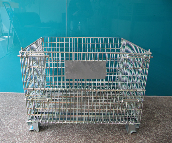 warehouse logistics collapsible trolley