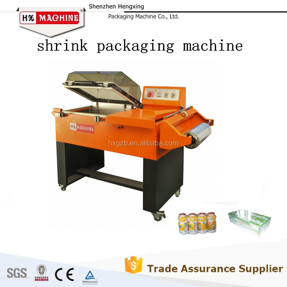 HX-5540 Automatic fruit meat bottle box Film Shrink Wrapping Machine