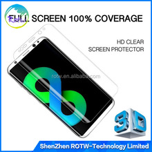 3D Full Coverage Screen Protector TPU Film Cover For Samsung Galaxy S8 S8 Plus
