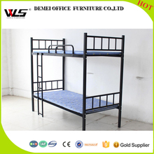 double decker metal bunk beds / dormitory beds detachable for military school home