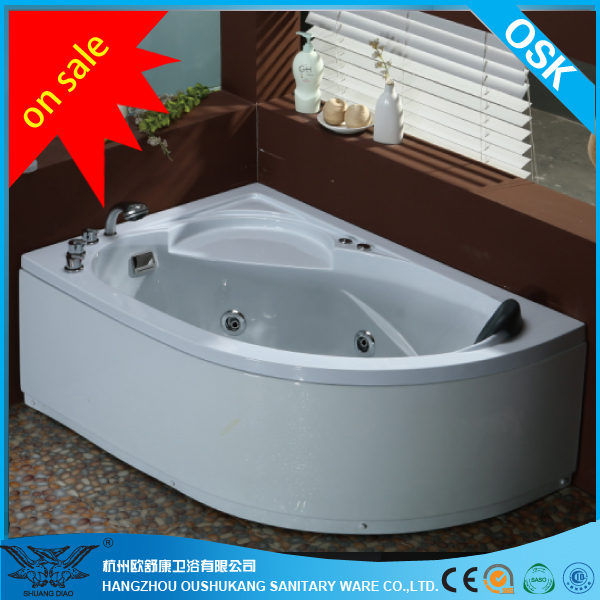 Drop in Whirlpool Bathtub With massage and Bubble