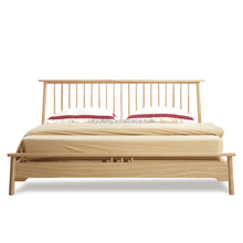 Brand new Yuteng Korean style solid wood modern and simple double bed
