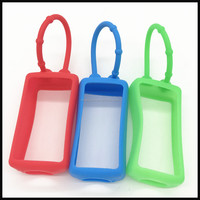 Factory wholesale BPA free silicone hand sanitizer cover