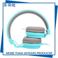 China manufacturer Modern fashionable headset and durable smartphone perfect headphones for lady and kids use
