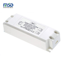 5 years warranty 60W CE/Rohs approved dimmable LED driver 0-60w 12V dali dimmer led light power driver PC shell plastic