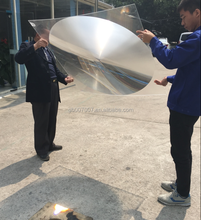 1100*1100mm optical large fresnel lens square spot fresnel lens for sale