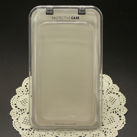 Chinese Factory Transparent Crystal Large Size Hard Packaging Box for Phone Covers