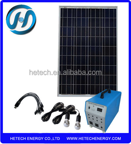 Import New energy from china portable 60w solar home system kits with lowest price
