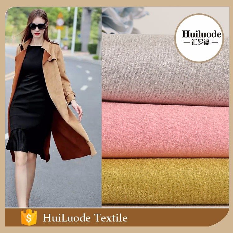 Latest design multicolor 105D*105D 350gsm scuba knit 100 polyester fabric for garment