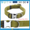 LF Classic Natural Hemp Pet Dog Collar with Soft Lint