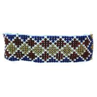 Lovely Handmade Custom Women Vintage Bracelets Crochet Glass Beads Bracelets For Woman Dropshipping Bracelets