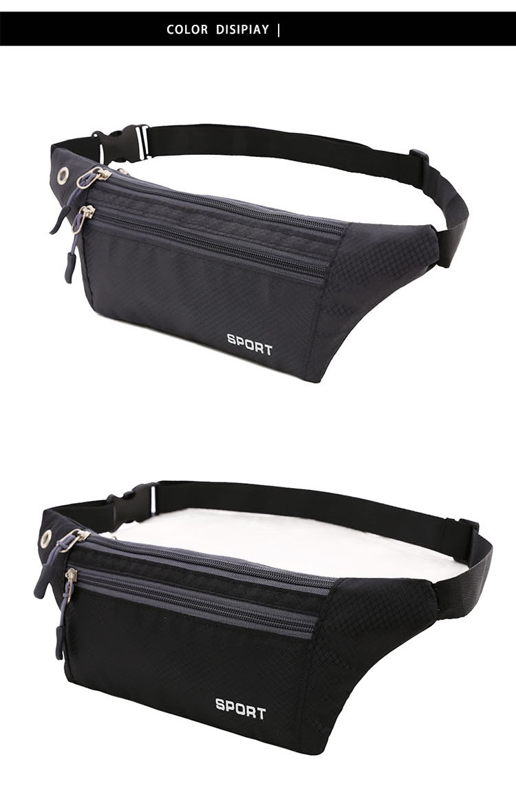 Multifunctional outdoor waist bag men running sports travel bag women fashionable travel bags