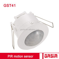 Recessed ceiling flush light switch pir motion sensor