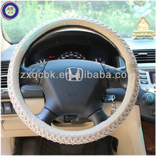 reliable quality steering wheel cover of beige