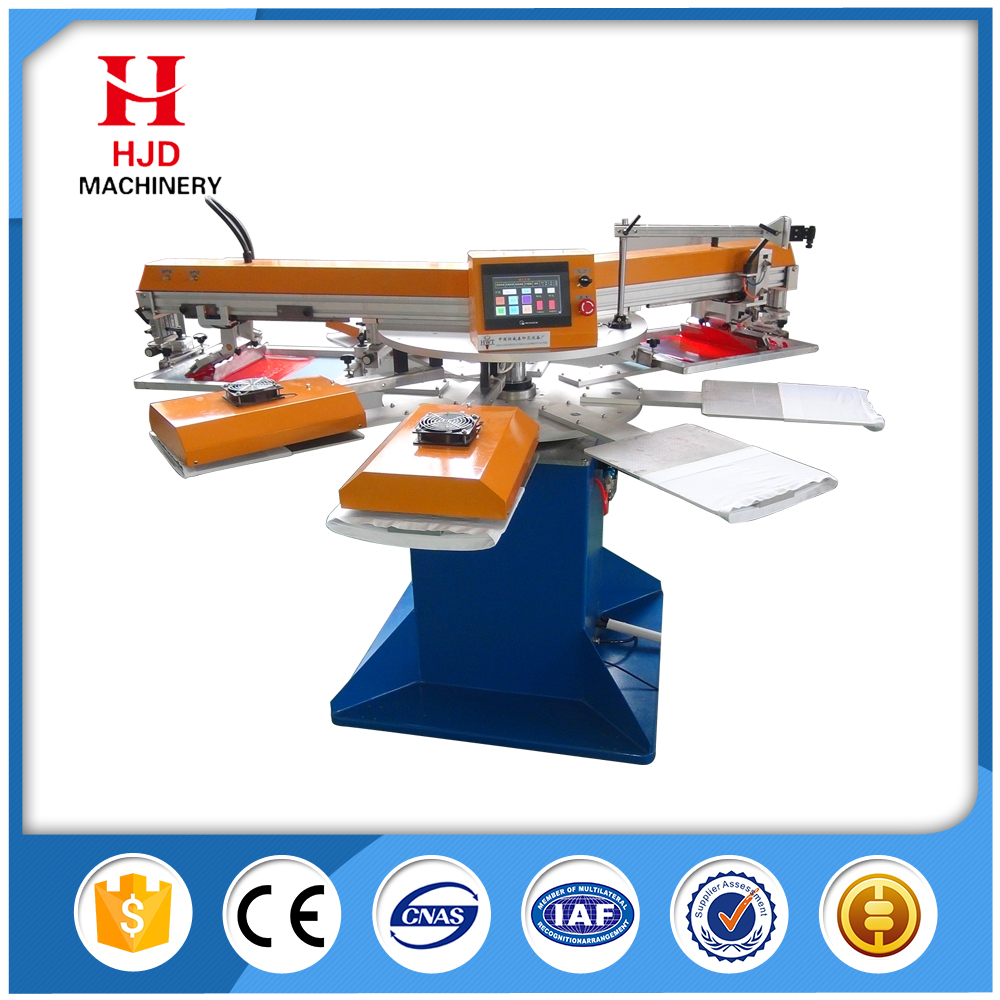 Ali Express China 2 color full automatic screen printing machine