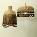 2016 wicker christmas home goods lamp shades