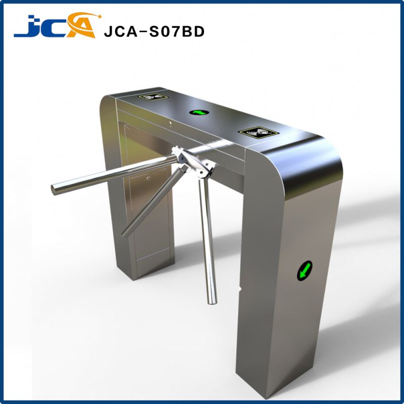 bidirectional bridge type tripod turnstile/turnstile gate/durable stainless steel high-grade bridge arc box tripod turnstile