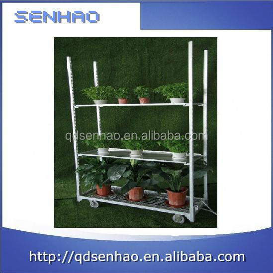 China supplier metal flower pot cart