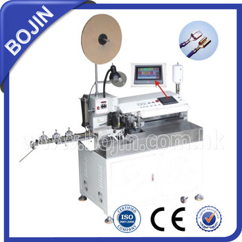 BJ-7000FT Fully Automactic Single Head Twisting, Crimping And Tinning Machine