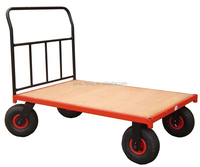 supermarket warehouse storage 4 wheels trolley