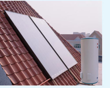 Split pressure solar heater flat panel solar water heater price