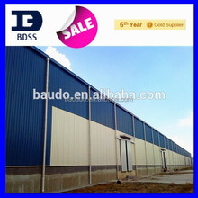low cost prefabricated eps warehouse