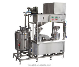 New Type Soy milk processing making machine (two grinding and Cooking)