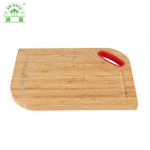 Wholesale organic bamboo functionc color coding chopping board