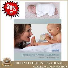 Hot selling waterproof crib mattress cover with low price