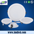 High lumen led downlight 12w round white color made in China