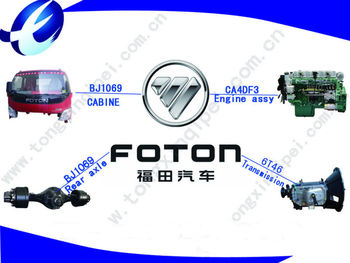 All FOTON parts and FOTON truck parts