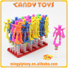 China factory direct sweet toy robot candy for export